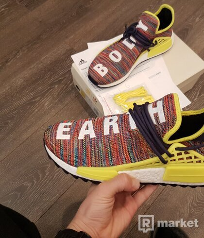 Adidas NMD Hu Trail Multicolour DS size 44
