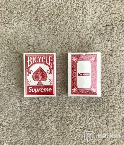 SUPREME x BICYCLE MINI PLAYING CARD DECK (2x)