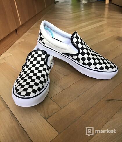 Vans ComfyCush Slip-On - Classic/Checkerboard/True White