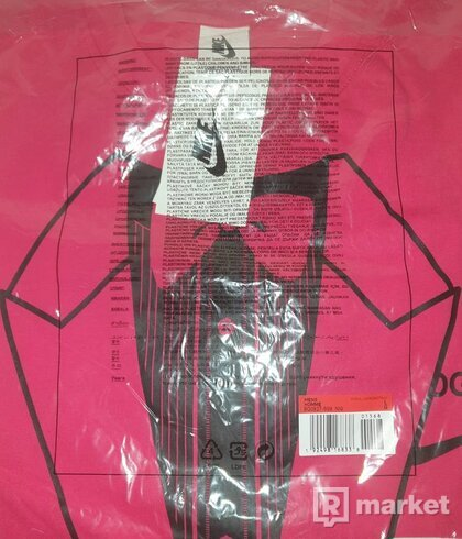 Nike x Off White Tee pink