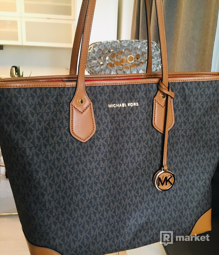 Michael Kors shopper bag +clutch