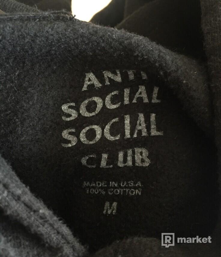Anti Social Social Club mikina ,velkost M,stav 9/10
