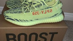Yezzy 350 V2 Semi Frozen Yellow