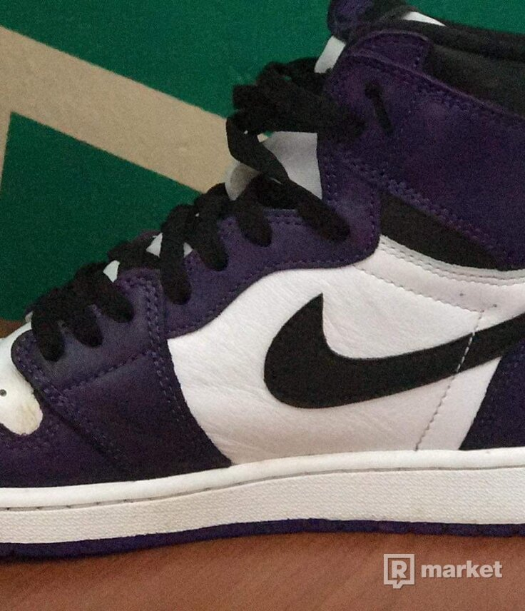Jordan 1 court purple 2.0