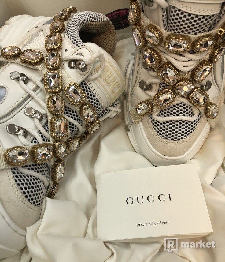 Gucci Flashtrek Sneakers White