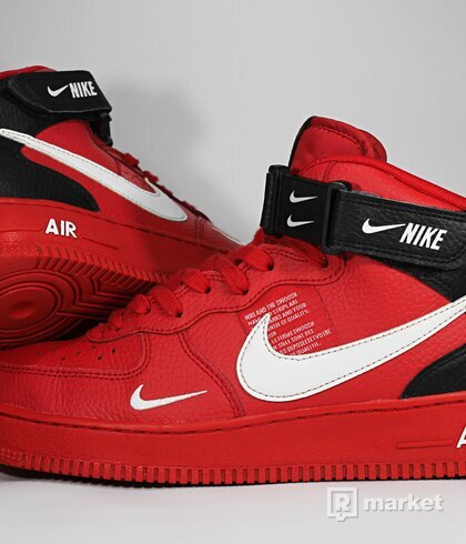 "Nike Air Force 1 Mid '07 LV8 ""University red"""