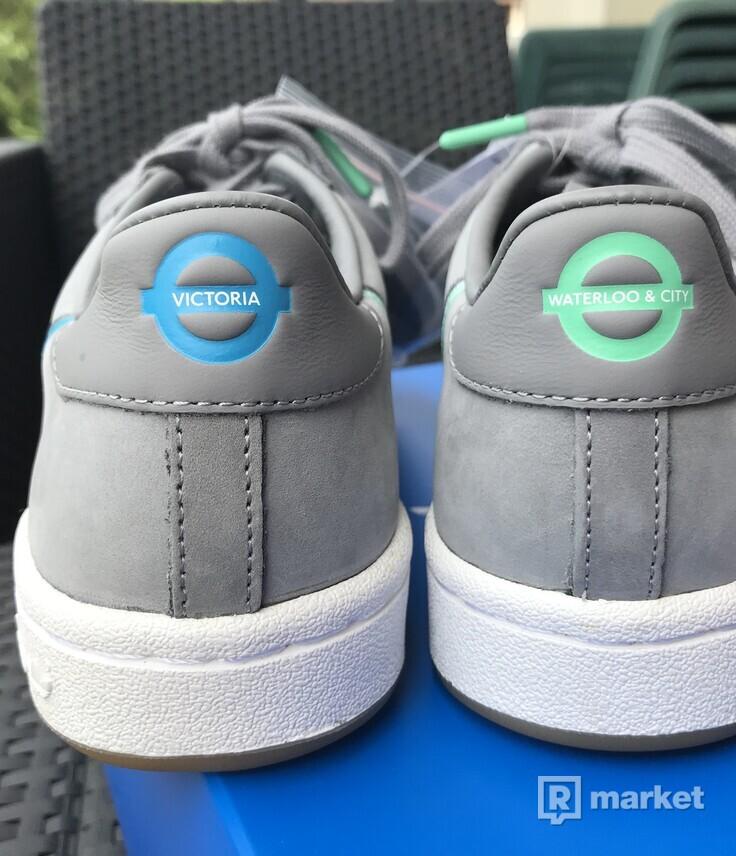 """Adidas Continental 80 x TfL """"Victoria / Waterloo"""""""
