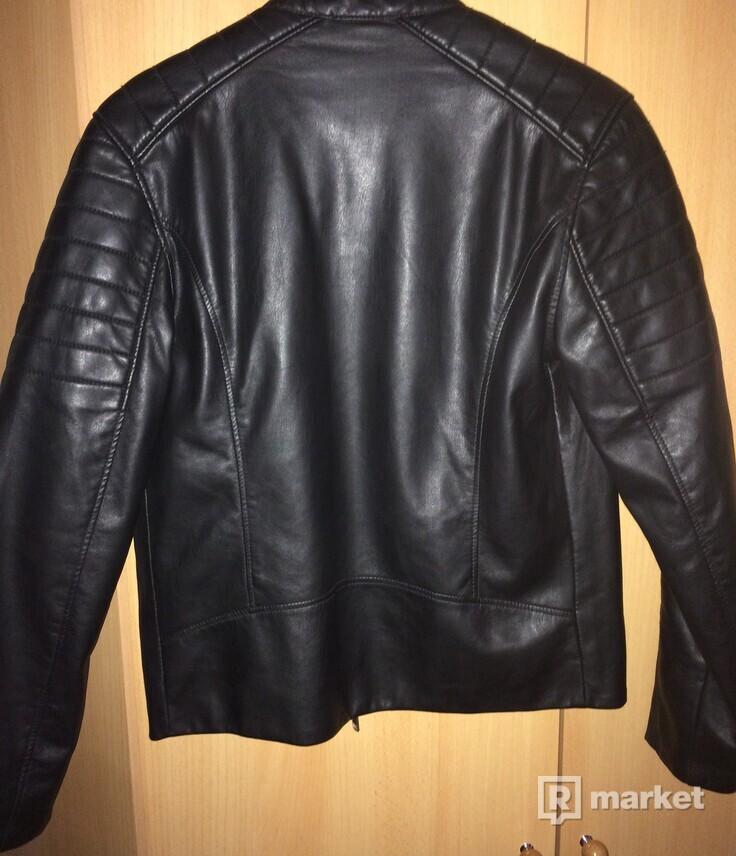 Koženná bunda h&m