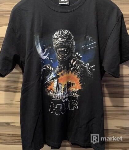 HUF x Godzilla tee