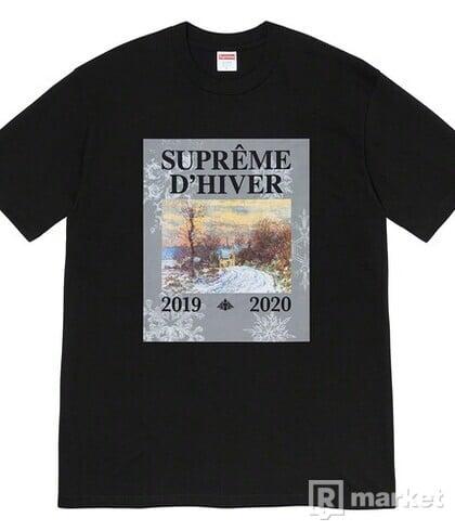 Supreme D'Hiver tee XL