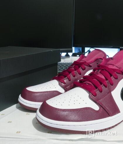 """Air Jordan 1 Low """"Noble Red"""""""