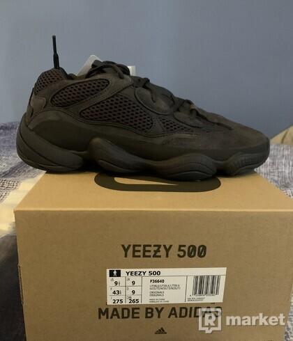 Adidas yeezy 500 ulity black