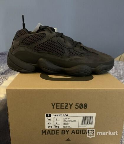 Adidas yeeezy 500 ulity black