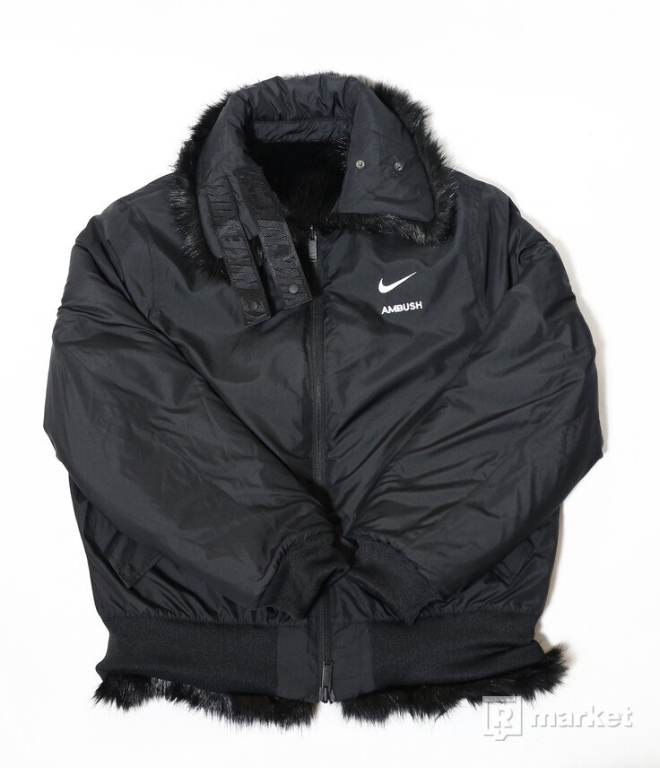 Nike x Ambush Faux Fur reversible jacket