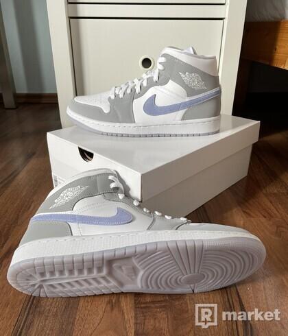"""Nike Air Jordan 1 Mid - """"Aluminium Wolf"""" aka """"Fake Diors"""""""