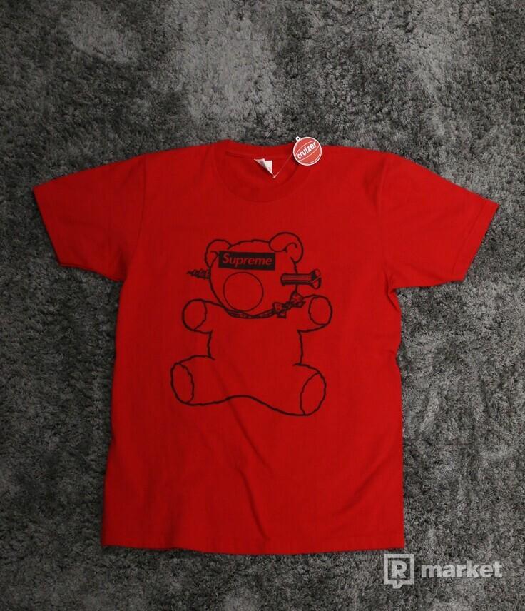 Supreme x Undercover Bear Boxlogo Tee Red