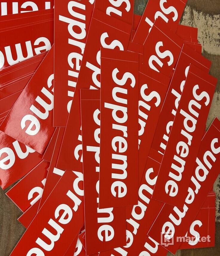 Supreme stickers / samolepky
