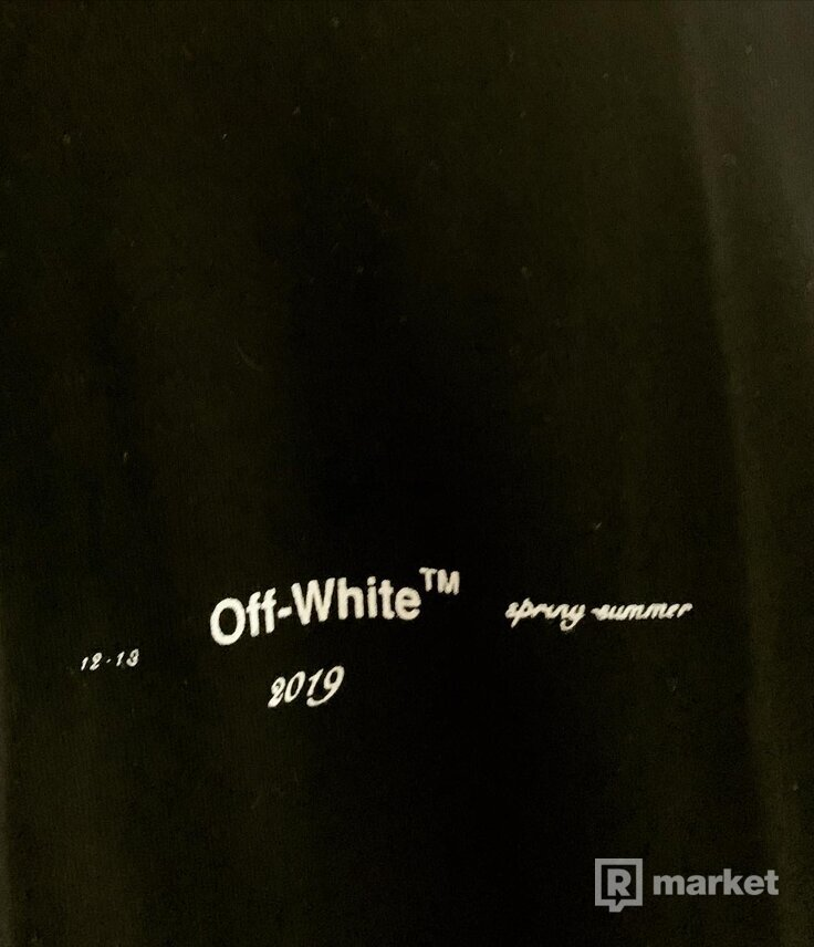 Off white X kaws black