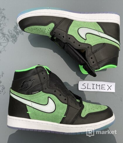 Air Jordan 1 High Zoom Green