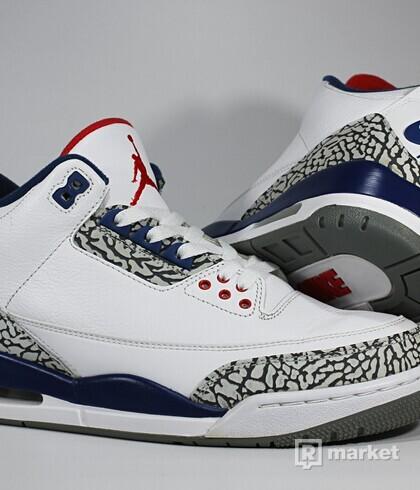"""Air Jordan Retro 3 OG """"True Blue"""""""