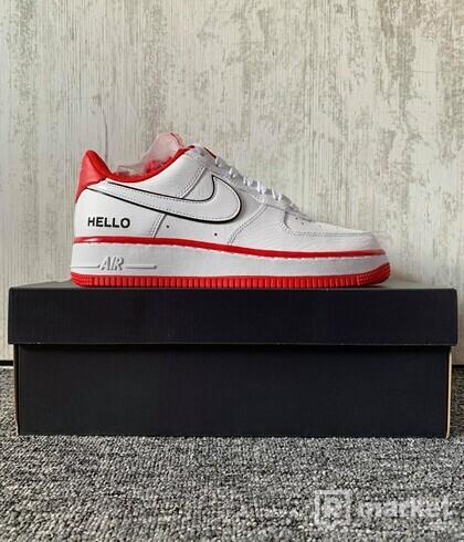 "Nike Air Force 1 '07 LX ""Hello"" (US 8W)"