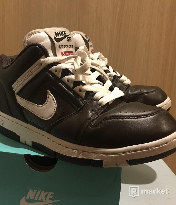 Nike Sb Air Force 2 Supreme