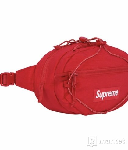Supreme Waist Bag Dark Red