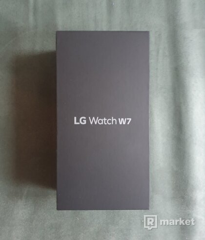 Smart hodinky LG Watch W7