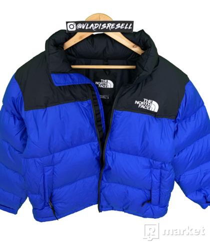 TNF 1996 Nuptse Jacket Blue