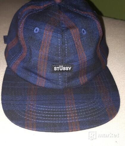 Stussy Plaid Strapback Cap
