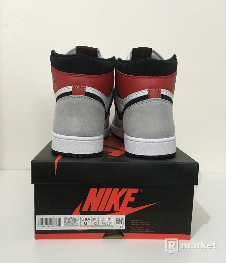 Jordan 1 High Smoke Grey [42]