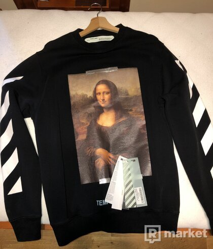 Sweatshirt off white Monalisa