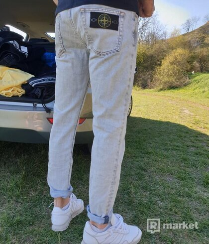 Stone island denim jeans