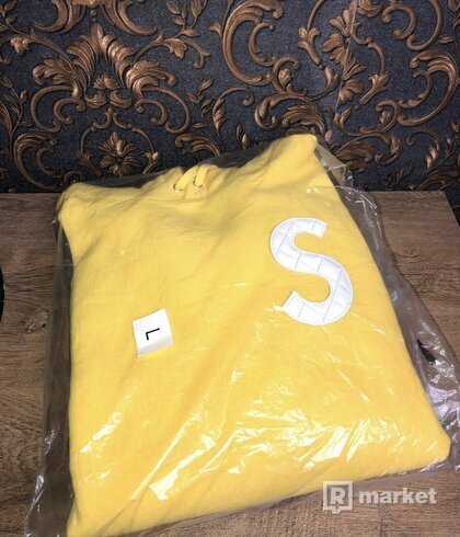 Supreme S Logo Hooded