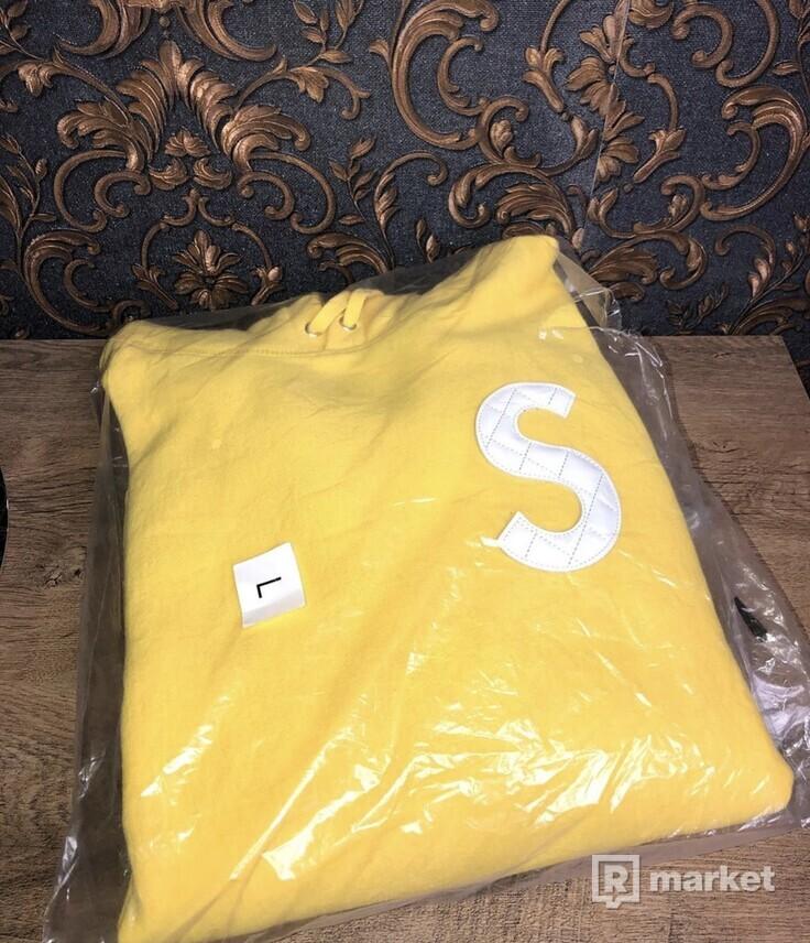 Supreme S Logo Hooded