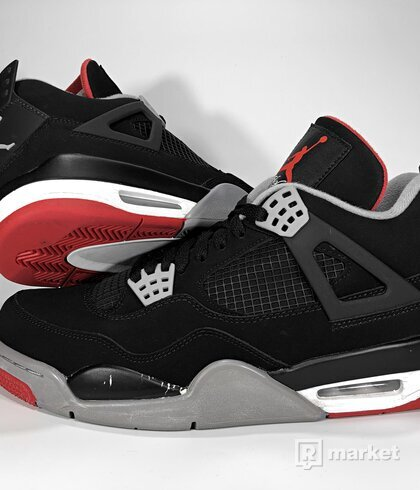 "Air Jordan Retro 4 ""Bred"" 2012"