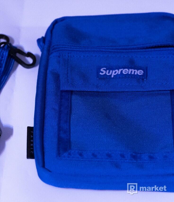 SUPREME utility pouch Royal  10/10