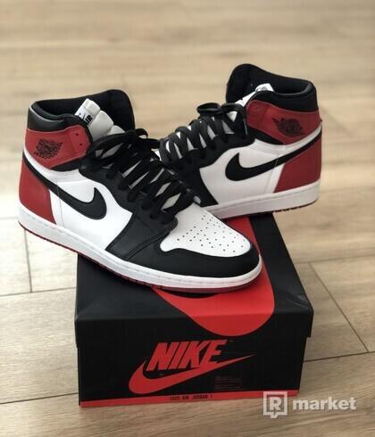 Air Jordan 1 ,,Black Toe'' - US 10