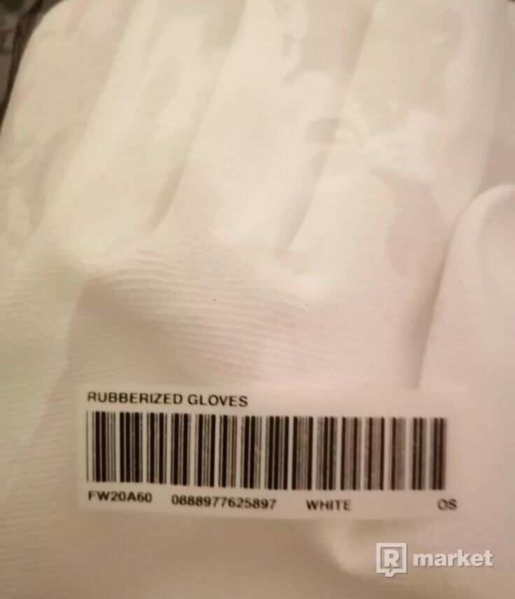Supreme gloves + supreme nálepka