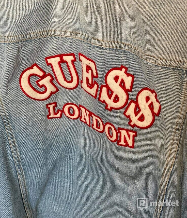 Guess x Asap Rocky jacket