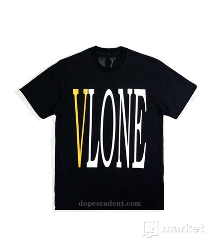 VLONE Tee Yellow Staple