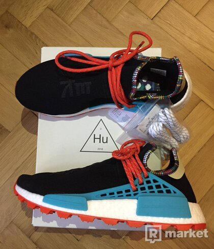 "adidas NMD Hu Pharrell Inspiration ""Core Black"""