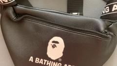 BAPE MAGAZINE BAG