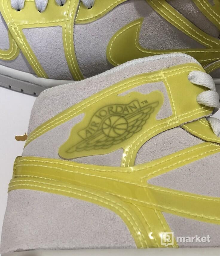 Air Jordan 1 Mid Yellow Opti (W)