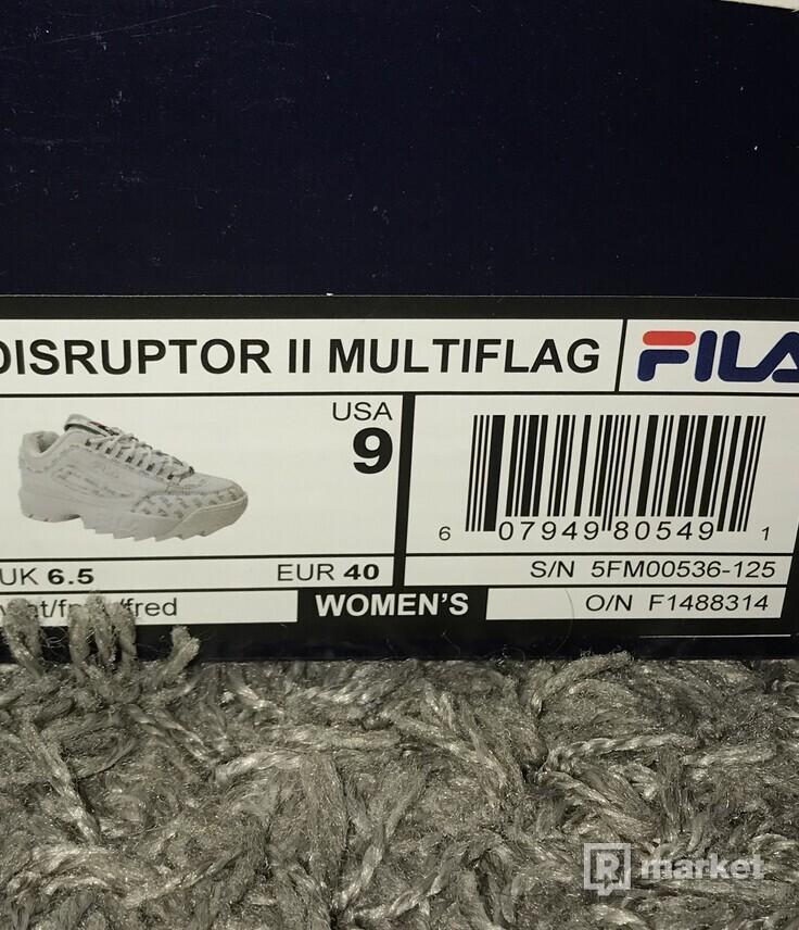 Fila disruptor II multiflag