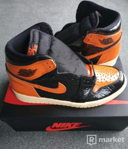 Nike Jordan 1 retro hogh shattered backboard 3.0