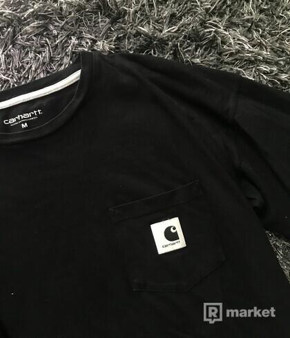 Čierne carhartt tričko