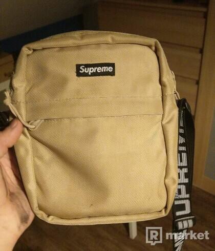 Supreme shoulder bag ss18 tan