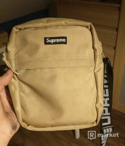 Supreme shoulder bag ss18 tan