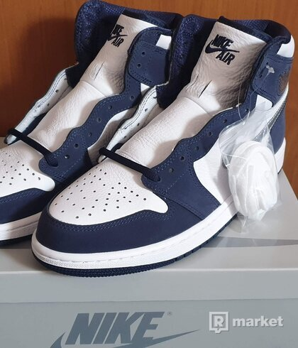 Jordan 1 retro high COJP Midnight Navy(2020)